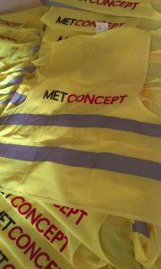 kamizelki odblaskowe z nadrukiem METCONCEPT www.pracowniakreska.eu