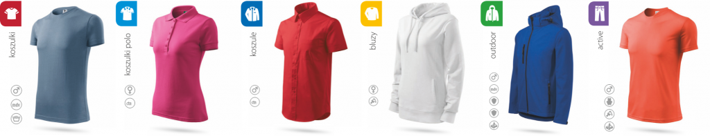 ADLER - Catalog of clothing, T-shirts and printed clothing,