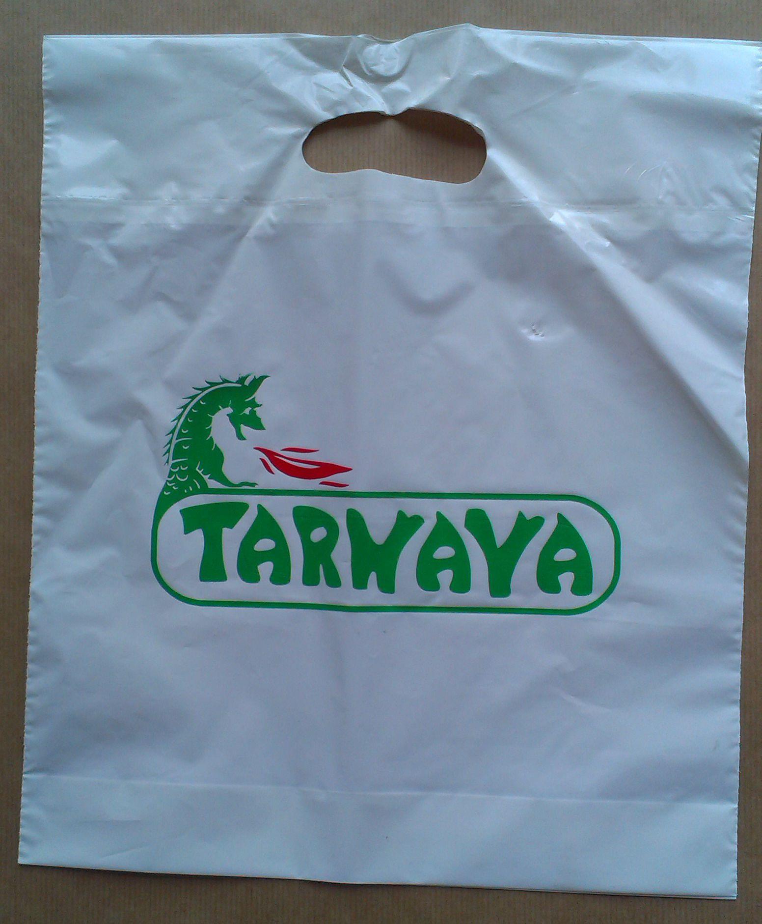 Tarnava - torby foliowe LDPE z nadrukiem 2 kolory - pracownia kreska - drukarnia